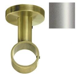 Soporte zirconio techo 28mm niq/mate
