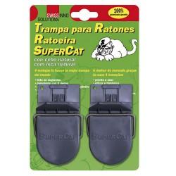 Trampa ratones plastico (b. 2 pzas)