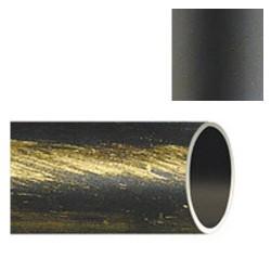 Barra hierro forja 28mm x2,00mt negro