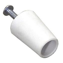 Tope persiana 40mm blanco (caja 50u)
