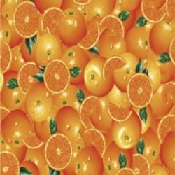 Mantel hule rollo 140cmx20m naranjas