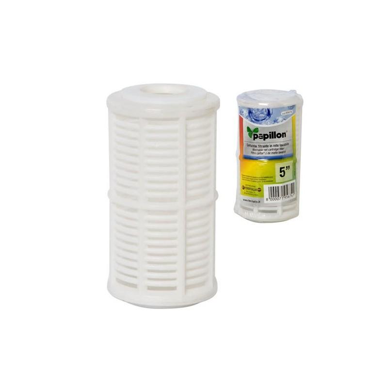 Filtro cartucho malla lavable 5 - Filtro de malla ...