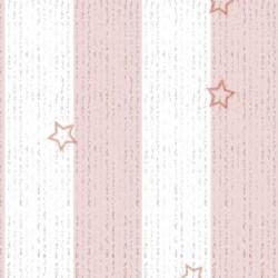 Lamina adhesiv rayas rosas 45cmx20m