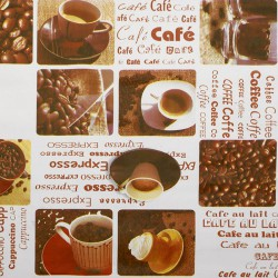 Mantel hule rollo 140cmx20m cafe