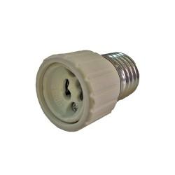 Adaptador bombillas e27 a gu10