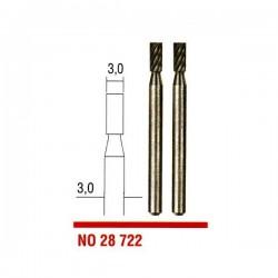 Fresas acero Tungsteno Vanadio 3 mm. Proxxon