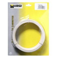 BLISTER ALAMBRE PLAST.MAURER BLAN.1,2mm