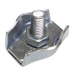 Sujetacables plano simple   4mm (bol200)