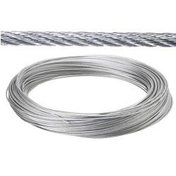 Cable galv.   2mm(ro 100mt) no elevacion