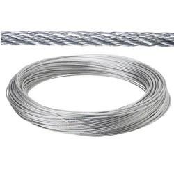 Cable galv.   2mm(ro  25mt) no elevacion