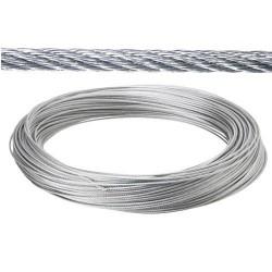 Cable galv.   5mm(ro  25mt) no elevacion