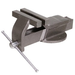 Tornillo banco acero maurer   125 mm.
