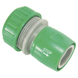 Conector mang.plastico 3/4-stop  blister