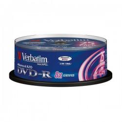 DVD-R Verbatim 8X 4.7Gb. Tarrina 25 Unidades