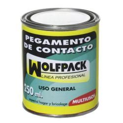 Pegamento contacto wolfpack   250 cc.