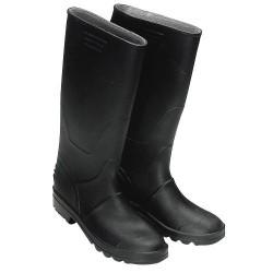 Botas goma altas negras num.44 (par)