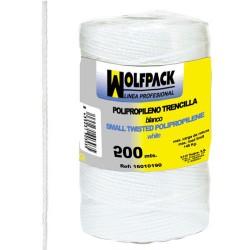 Cuerda trencilla polip.blanco (bo.200mt)