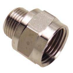 Adaptador alargue h-3/8 - m-1/4 (b.2 pz)