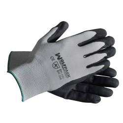 """Guante wolfpack glovex-plus   8"""" transpi (par)"""