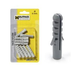 Blister taco nylon          6mm. (25pz)