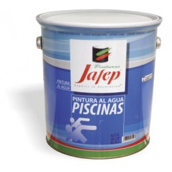 Pintura Al Agua Jafep Piscinas 15L.