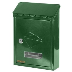 Buzon maurer ext 21x30x6,8 verde