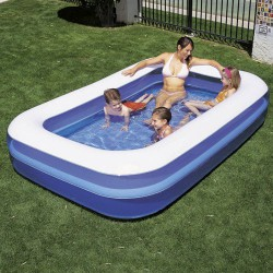 Piscina inflable rectang.262x175x51cm