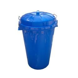 Cubo Basura Comunidad 100 Litros Azul