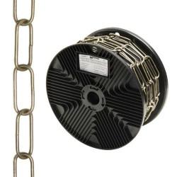 Cadena deco lisa cuero 3,4x43mm r.20m