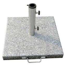 Base sombrilla granito 20kg/400x400mm