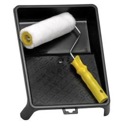 Cubeta pintar domestica con rodillo