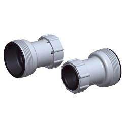 Pisc.adaptador tubo 38mm - set 2 pzas.