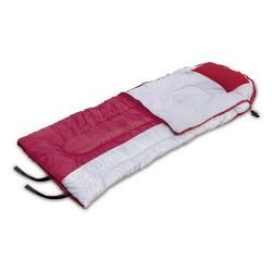 Saco de dormir poliester extrem(-1°c)roj