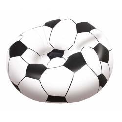 Sillon inflable futbol 114x112x71cm