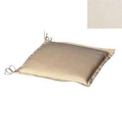 Cojin p/silla 43x43x5cm beige desenfund.
