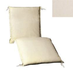 Cojin p/tumbona 200x65x5cm beige desenf.