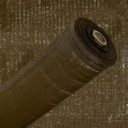 Malla sombreo 1,0mt. marron ro.100mt.