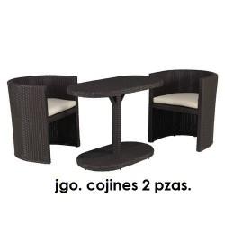 Cojines p/taormina marr jgo 2pz blanco
