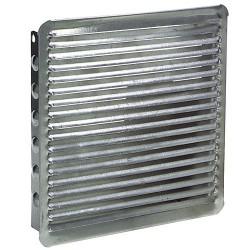 Rejilla empotrar    17x17 aluminio