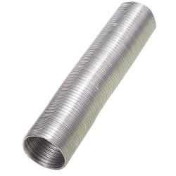 Tubo alum.comp.gris 100mm.   5 mt