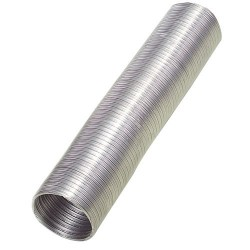 Tubo alum.comp.gris 110mm.   5 mt