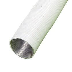 Tubo alum.comp.blanco 200mm.   5 mt