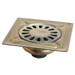 Sumidero acero bicromatado 125x125 t.40