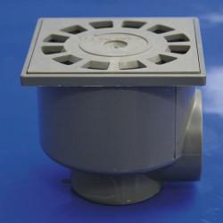 Sumidero sif. pvc t-87  10x10  50-40 v-h
