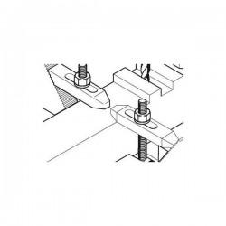 Garras de acero escalonadas para la fresadora MF 70