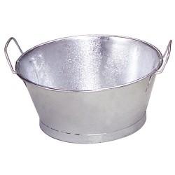 "Baño galvanizado  30""  75x28 cm. 70 lt."