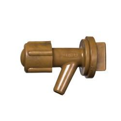 """Grifo barril plastico mini c/tuerca 3/4"""""""