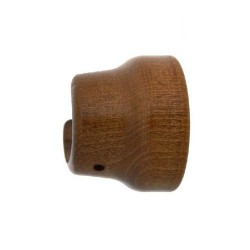 Soporte madera liso later.28x 42mm nogal