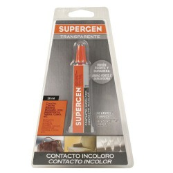 Pegamento supergen incoloro 20 ml.