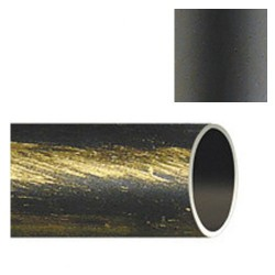 Barra hierro forja 20mm x2,00mt. negro